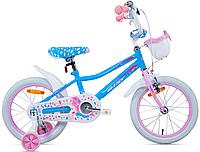 "Велосипед Aist Wiki 16"" детский голубой"
