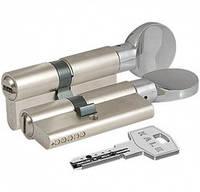 Цилиндровый механизм с вертушкой 164 BM/100 (45+10+45) mm никель 5 кл.