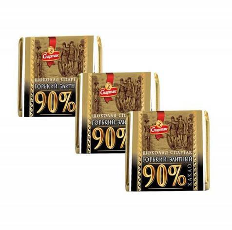 Шоколад Спартак весовой горький  90% какао 5г, фото 2