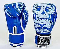 Перчатки боксерские EVERLAST FLEX на липучке PU (B), фото 1