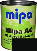 Автокраска акриловая 601 Черная MIPA 2K 1л. без отвердителя