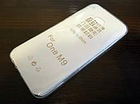 Чехол силиконовый ультратонкий для HTC One M9 прозрачный