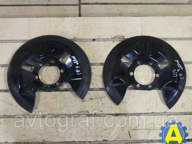 Защита заднего тормозного диска левого и правого оцинкованная на Mazda 6 (Мазда 6) 2002-2008