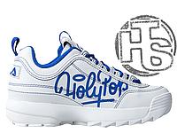 Женские кроссовки Fila Disruptor II 2 HolyPop White/Blue