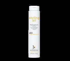 Styling oil KROM. Масло для стайлинга с растительным кератином 250 мл