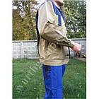 Куртка Модиф Eco Print беж с синим Wurth, фото 2