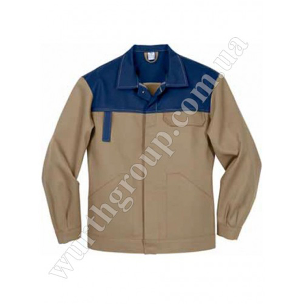 Куртка Модиф Eco Print беж с синим Wurth