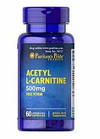 Puritan's PrideДля снижения весаAcetyl L-Carnitine 500 mg30 caps