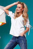 Блуза Кармен белый