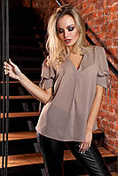 Блуза Кармен бежевый