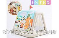Надувной детский игровой центр палатка Intex от 3 лет