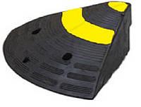 Пандус, резиновый съезд с бордюра, боковой элемент