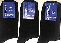 Носки мужские демисезонные Житомир размер 27(41-43) чёрные