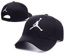"""Бейсболка Air Jordan Baseball """"Black"""". Стильная кепка. Кепки и бейсболки."""