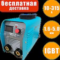 Сварочный инвертор Riber Profi RP 317D экран, 10-315 А, 1.6-5 мм, сварочный инверторный аппарат сварка