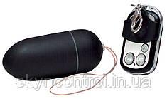 Дистанционное виброяйцо - Black & Silky RC 10 Funktionen
