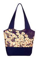 Текстильная сумка Ромашки