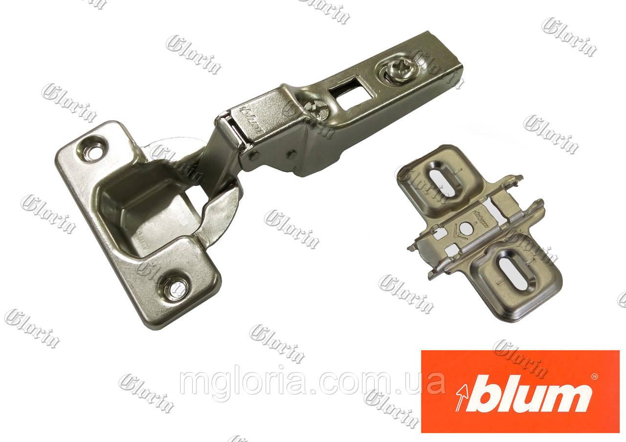 Петля Blum Clip без пружини полунакладная 70M2650