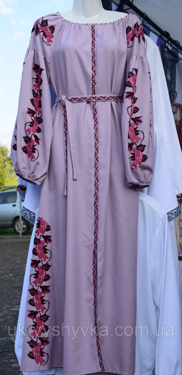 Плаття вишиване