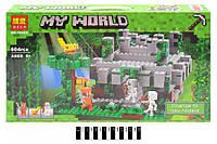 Майнкрафт 10623 Конструктор Храм в джунглях 604дет аналог LEGO 21132 Minecraft
