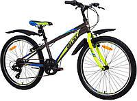 """Велосипед Aist Rocky Junior 1.0 24"""" черный, фото 1"""