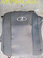 Чехли модельні  ВАЗ 2108-09, 99 колір: Темно СІРІ
