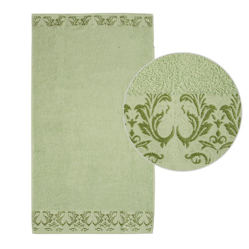 Махровое полотенце DeLux ТМ Ярослав, 50х90 см