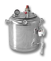 Автоклав из нержавеющей стали на 16 банок электрический (универсальный)