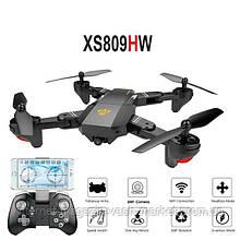 Квадрокоптер, дрон, вертолёт VISUO XS809HW с 2 МП WiFi Камерой