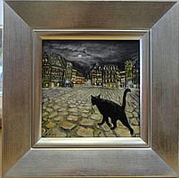 """Картина миниатюра """"Кот в Брюсселе"""", фото 1"""