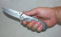 Нож Gerber N 602 (складень). Титан + алюминий, копия, фото 1