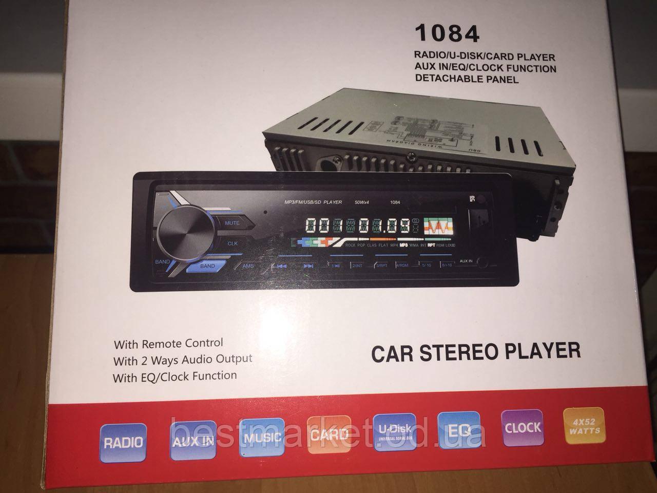 Автомагнитола Car Stereo Player 1084