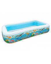 Дитячий надувний басейн Intex Акваріум