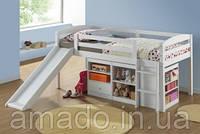 Кровать-чердак Бамбино