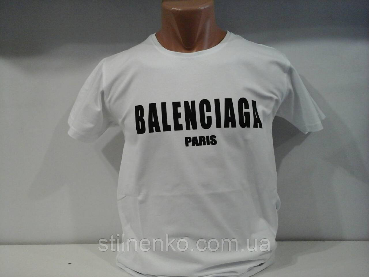 Футболка мужская  Balenciaga р-р M. L. XL. 2XL
