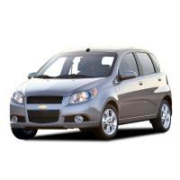 Коврик в багажник Chevrolet Aveo hb 2008-2011