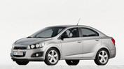 Коврик в багажник Chevrolet Aveo II sedan 2012-