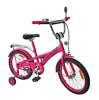 Велосипед 2-х колес 16'', со звонком, зеркалом, руч.тормоз (1шт)