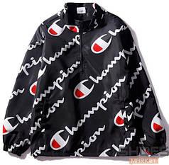Куртка Champion Diagonal Signs Black (ориг.бирка)