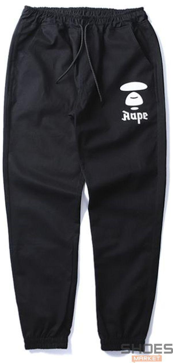 Штаны Bape Siluet Black (ориг.бирка)
