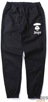 Штаны Bape Siluet Black (ориг.бирка), фото 2