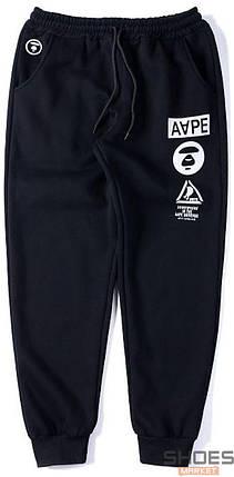 Штаны Bape Aape Black (ориг.бирка), фото 2