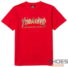 Футболка Thrasher Magazine Red (ориг.бирка)