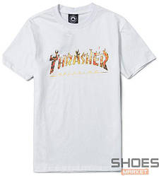 Футболка Thrasher Magazine White (ориг.бирка)
