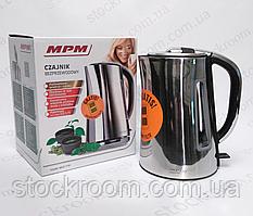 Чайник электрический металлический  MPM MCZ-71