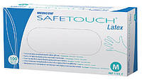 Перчатки латексные SafeTouch без пудры (100шт/уп)