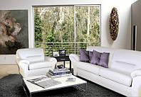 Комплект мягкой мебели Смоки (диван + кресло)