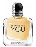 Giorgio Armani Emporio Armani Because It's You парфюмированная вода 100 ml. (Тестер Армани Бекос Итс Ю)