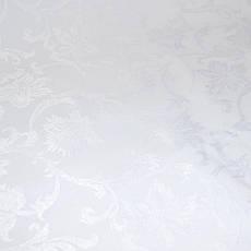 Teflon Цветы-150 (Рис.2) Белая Скатертная ткань с пропиткой Тефлон 150см, фото 2