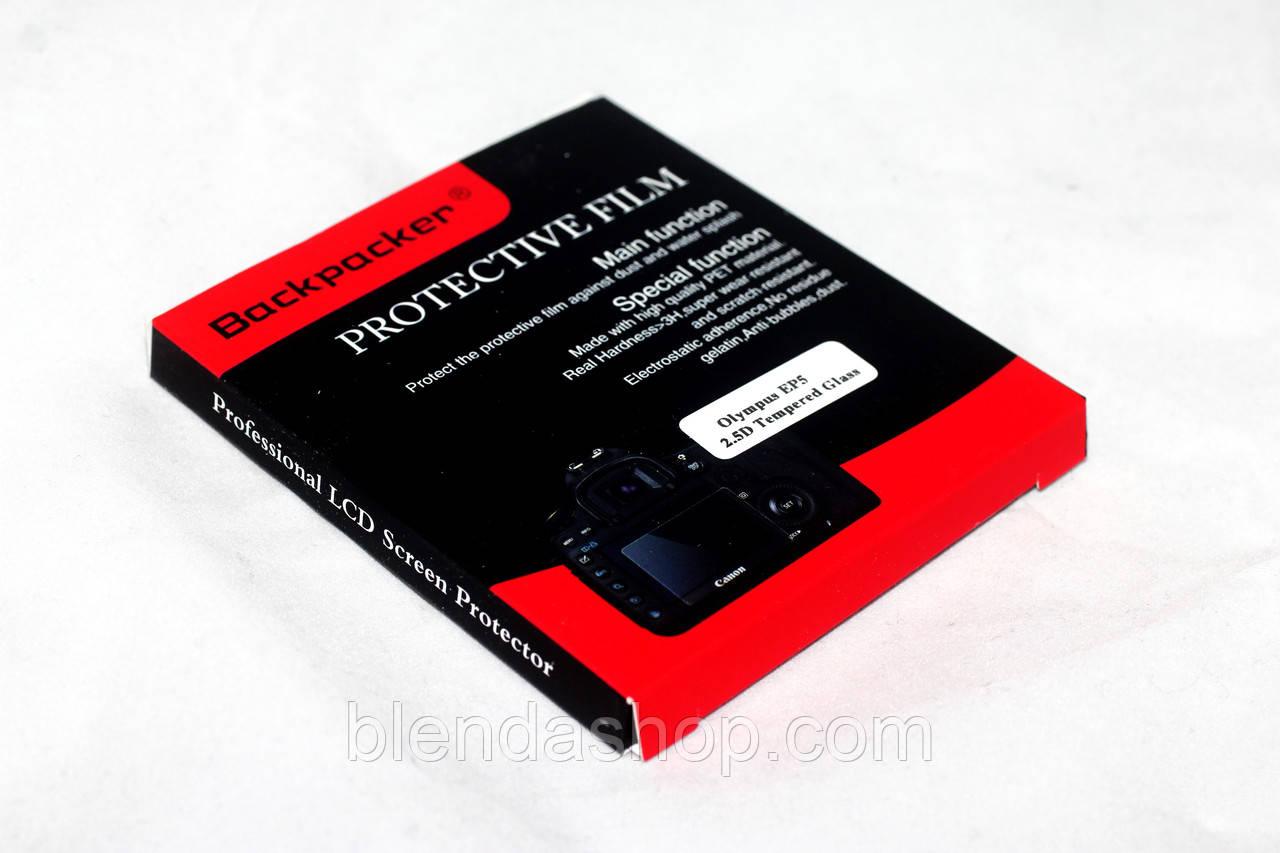 Захист LCD екрана Backpacker для Nikon 1 V3 - загартоване скло